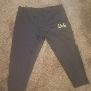 UCLA athletic capris